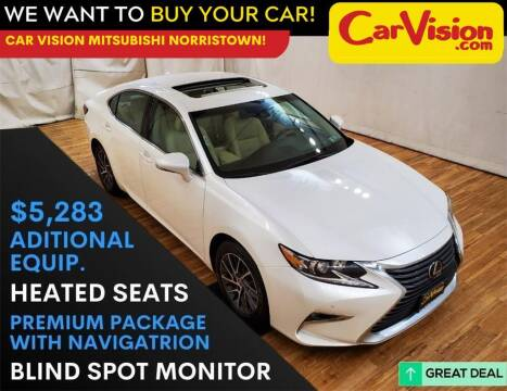 2017 Lexus ES 350 for sale at Car Vision Mitsubishi Norristown in Trooper PA
