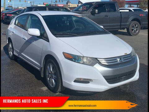 2010 Honda Insight for sale at HERMANOS AUTO SALES INC in Hamilton OH
