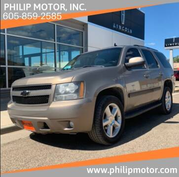 2007 Chevrolet Tahoe for sale at Philip Motor Inc in Philip SD