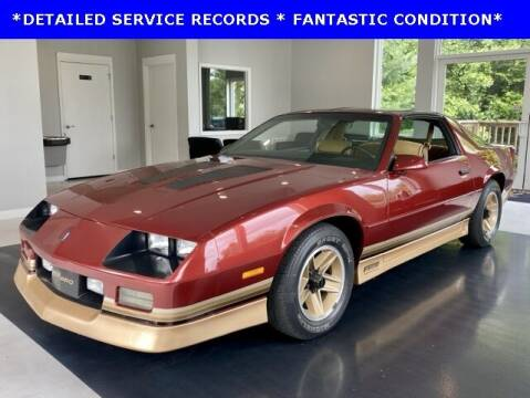 1987 Chevrolet Camaro for sale at Ron's Automotive in Manchester MD