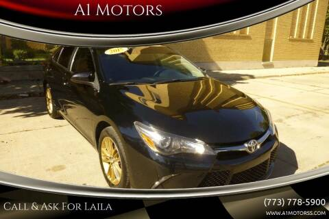 2015 Toyota Camry for sale at A1 Motors Inc in Chicago IL