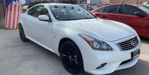2014 Infiniti Q60 Coupe for sale at Elite Automall Inc in Ridgewood NY