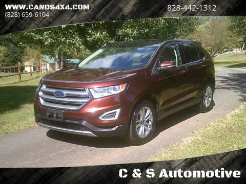 2015 Ford Edge for sale at C & S Automotive in Nebo NC