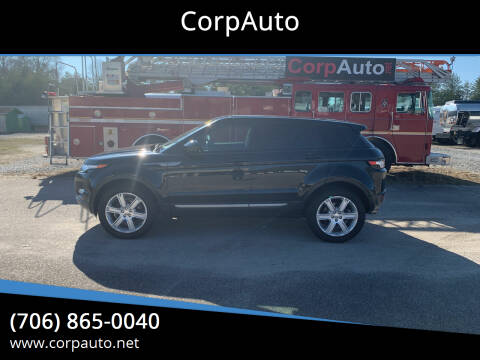 2014 Land Rover Range Rover Evoque for sale at CorpAuto in Cleveland GA