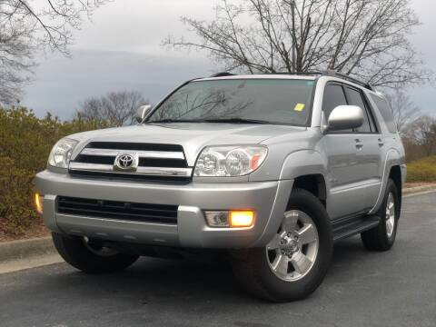 2005 Toyota 4Runner for sale at William D Auto Sales in Norcross GA