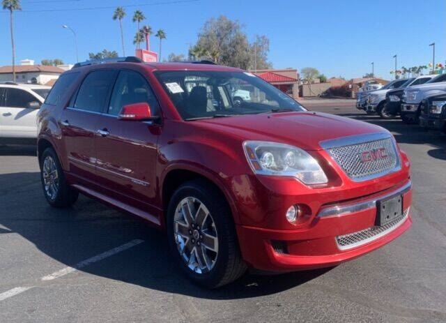 2012 GMC Acadia for sale at Brown & Brown Wholesale in Mesa AZ