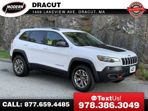2020 Jeep Cherokee for sale at Modern Auto Sales in Tyngsboro MA