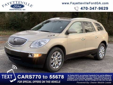 2012 Buick Enclave for sale at FAYETTEVILLEFORDFLEETSALES.COM in Fayetteville GA