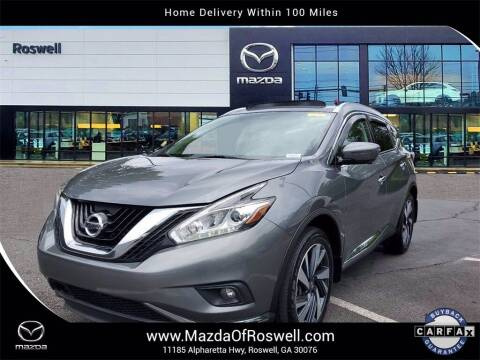2018 Nissan Murano for sale at Mazda Of Roswell in Roswell GA