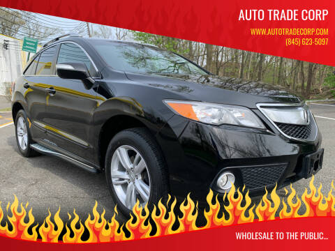 2013 Acura RDX for sale at AUTO TRADE CORP in Nanuet NY