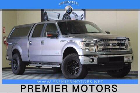 2014 Ford F-150 for sale at Premier Motors in Hayward CA