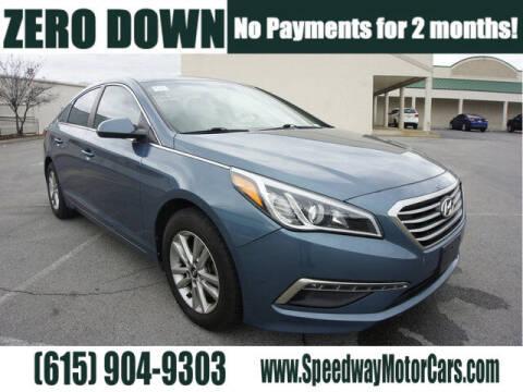 2015 Hyundai Sonata for sale at Speedway Motors in Murfreesboro TN