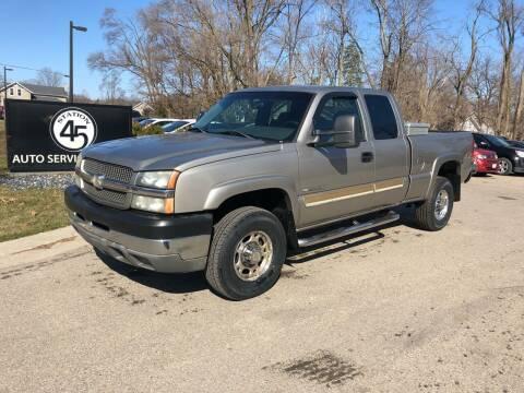 2003 Chevrolet Silverado 2500HD for sale at Station 45 Auto Sales Inc in Allendale MI