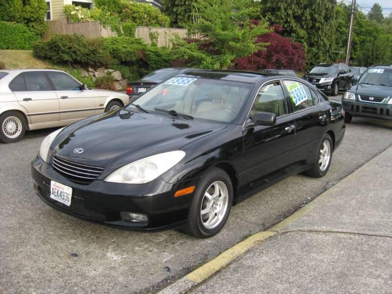 2002 Lexus ES 300 for sale at UNIVERSITY MOTORSPORTS in Seattle WA