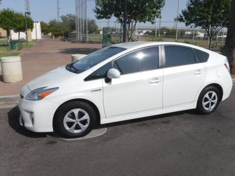 2015 Toyota Prius for sale at J & E Auto Sales in Phoenix AZ