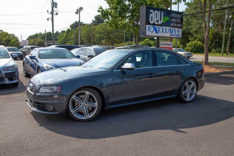 2011 Audi S4 for sale at EXCLUSIVE MOTORS in Virginia Beach VA