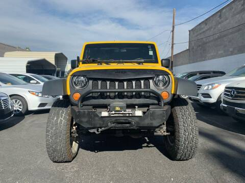 2008 Jeep Wrangler Unlimited for sale at Auto Center Of Las Vegas in Las Vegas NV