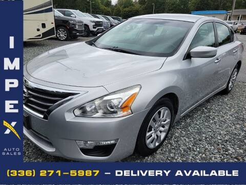 2014 Nissan Altima for sale at Impex Auto Sales in Greensboro NC