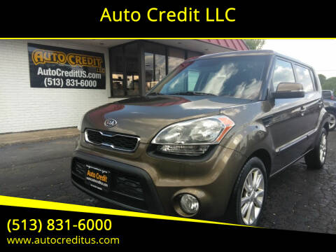 2012 Kia Soul for sale at Auto Credit LLC in Milford OH