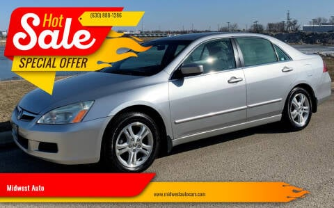 2006 Honda Accord for sale at Midwest Auto in Naperville IL