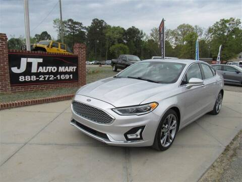 2019 Ford Fusion for sale at J T Auto Group in Sanford NC
