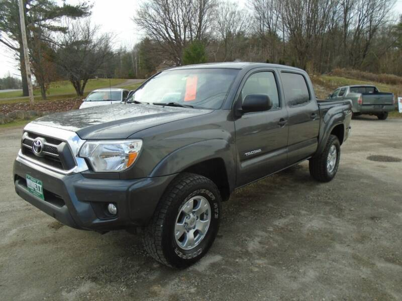 2014 Toyota Tacoma for sale at Wimett Trading Company in Leicester VT