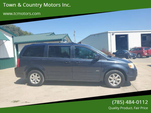 2008 Chrysler Town and Country for sale at Town & Country Motors Inc. in Meriden KS