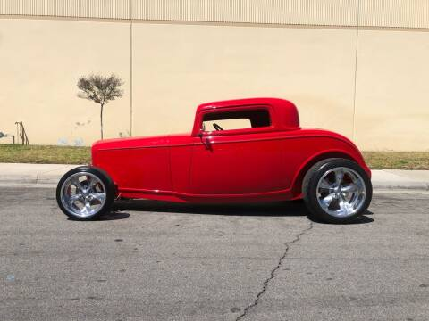 1932 Ford 3 Window Coupe for sale at HIGH-LINE MOTOR SPORTS in Brea CA