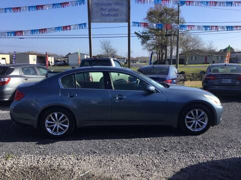 2008 Infiniti G35 for sale at Affordable Autos II in Houma LA
