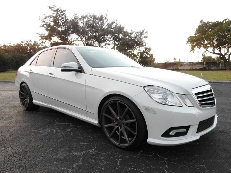 2011 Mercedes-Benz E-Class for sale at SUPER DEAL MOTORS 441 in Hollywood FL