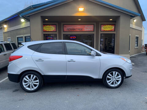 2010 Hyundai Tucson for sale at Advantage Auto Sales in Garden City ID