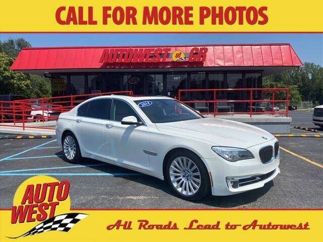 2014 BMW 7 Series for sale at Autowest of GR in Grand Rapids MI