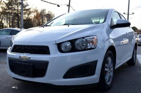 2014 Chevrolet Sonic for sale at Prime Auto Sales LLC in Virginia Beach VA