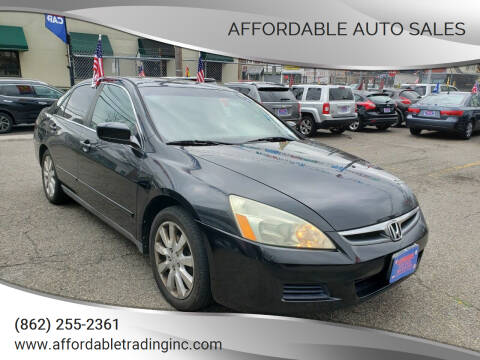 2006 Honda Accord for sale at Affordable Auto Sales in Irvington NJ