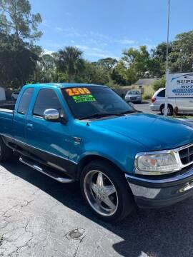 1997 Ford F-150 for sale at Supreme Motors in Tavares FL