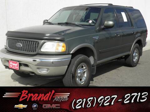 2000 Ford Expedition for sale at Brandl GM in Aitkin MN