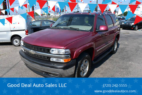 2006 Chevrolet Tahoe for sale at Good Deal Auto Sales LLC in Denver CO