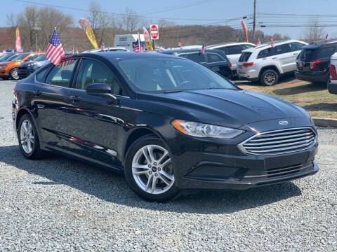 2018 Ford Fusion for sale at A&M Auto Sale in Edgewood MD