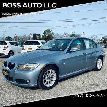 2010 BMW 3 Series for sale at BOSS AUTO LLC in Norfolk VA