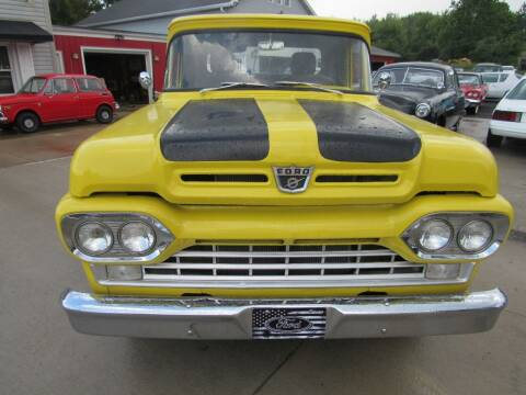 1960 Ford F-100 for sale at Whitmore Motors in Ashland OH