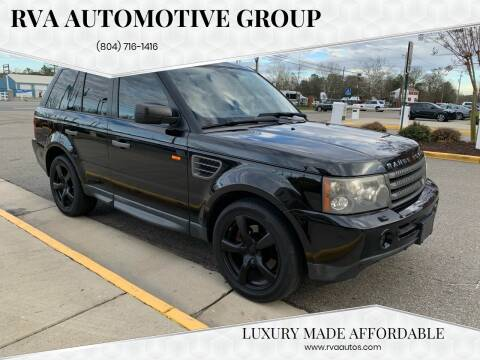 2008 Land Rover Range Rover Sport for sale at RVA Automotive Group in North Chesterfield VA