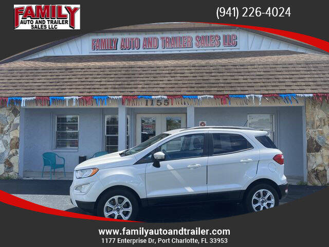 2019 Ford EcoSport for sale at Family Auto and Trailer Sales LLC in Port Charlotte FL