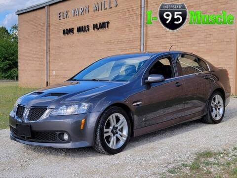 2009 Pontiac G8 for sale at I-95 Muscle in Hope Mills NC