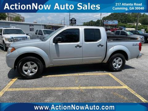 2013 Nissan Frontier for sale at ACTION NOW AUTO SALES in Cumming GA
