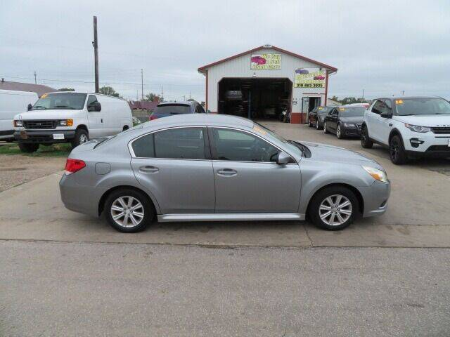 2011 Subaru Legacy for sale at Jefferson St Motors in Waterloo IA