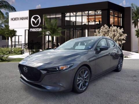 2019 Mazda Mazda3 Hatchback for sale at Mazda of North Miami in Miami FL