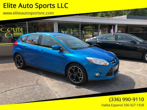 2012 Ford Focus for sale at Elite Auto Sports LLC in Wilkesboro NC