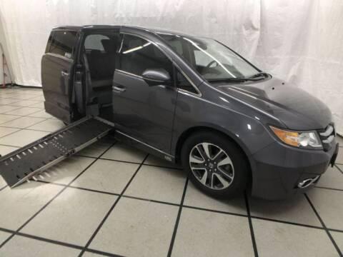 2015 Honda Odyssey for sale at AMS Vans in Tucker GA