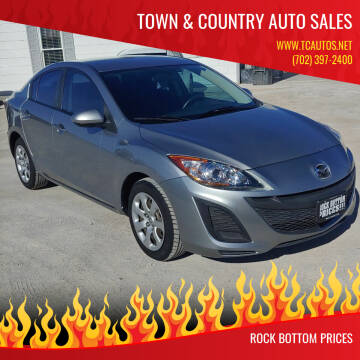 2011 Mazda MAZDA3 for sale at TOWN & COUNTRY AUTO SALES in Overton NV