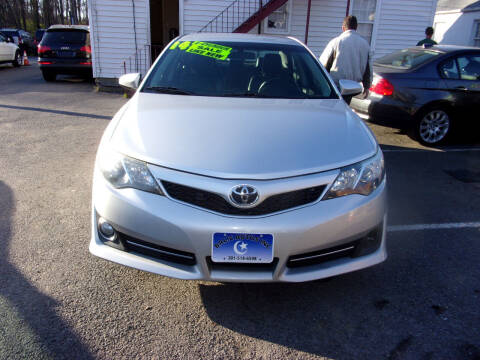 2014 Toyota Camry for sale at Balic Autos Inc in Lanham MD